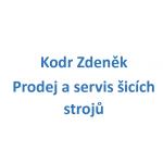KODR Zdeněk- Prodej a servis šicích strojů – logo společnosti