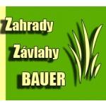 Zahrady a zahradnictví Bauer – logo společnosti
