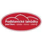 PODBLANICKÉ LAHŮDKY – logo společnosti