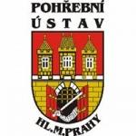 POHŘEBNÍ ÚSTAV HL.M.PRAHY (pobočka Jesenice ) – logo společnosti