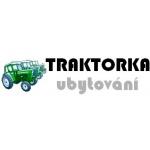 UBYTOVÁNÍ TRAKTORKA – logo společnosti