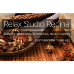 Relax studio Regina – logo společnosti