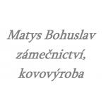 Matys Bohuslav- zámečnictví, kovovýroba – logo společnosti