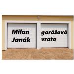 Janák Milan - garážová vrata – logo společnosti
