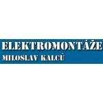 Elektromontáže Miloslav Kalců – logo společnosti