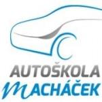 AUTOŠKOLA MACHÁČEK (pobočka Praha 9) – logo společnosti