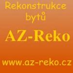 Nosek Petr - AZ-Reko - rekonstrukce bytů – logo společnosti