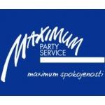 MAXIMUM party service – logo společnosti
