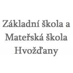Základní škola a Mateřská škola Hvožďany, okres Příbram, příspěvková organizace – logo společnosti