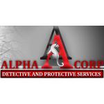 Alpha Corp, s.r.o. - Bezpečnostní a detektivní agentura – logo společnosti