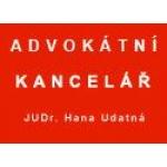 Hana Udatná, JUDr. - Advokátní kancelář – logo společnosti