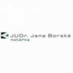 JUDr. Jana Borská - Notářství Praha 9 – logo společnosti
