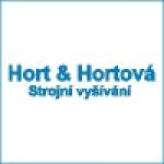 Hort Vladimír- strojní vyšívání – logo společnosti