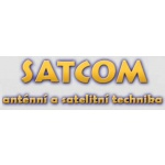 SATCOM PRAHA - Anténní a satelitní technika – logo společnosti