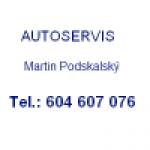 Podskalský Martin - MP SERVIS – logo společnosti