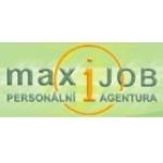 MaxiJOB - Personální agentura – logo společnosti