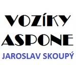 Skoupý Jaroslav - VOZÍKY ASPONE – logo společnosti