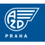 AŽD Praha s.r.o. - zabezpečovací technika – logo společnosti