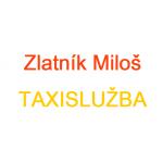 Zlatník Miloš- TAXISLUŽBA – logo společnosti
