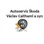 Autoservis Škoda Praha 6 - Vokovice - Václav Caithaml a syn – logo společnosti