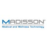 MADISSON, s.r.o. - technika pro zdravotnictví, rehabilitaci a wellness. – logo společnosti
