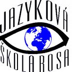 Jazyková škola Rosa, Ludmila Rosová – logo společnosti