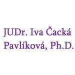 JUDr. Iva Čacká Pavlíková, Ph.D. – logo společnosti