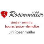 Rosenmüller Jiří - Strojní zemní práce – logo společnosti