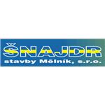ŠNAJDR stavby Mělník, s.r.o. – logo společnosti