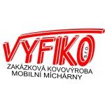VYFIKO s.r.o. - kovovýroba – logo společnosti