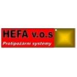 HEFA-PROTIPOŽÁRNÍ SYSTÉMY, v.o.s. – logo společnosti