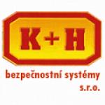 K+H bezpečnostní systémy, s.r.o. – logo společnosti