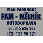 AUTODOPRAVA FAM - Ivan Fadrhonc – logo společnosti