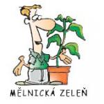 MĚLNICKÁ ZELEŇ spol. s r.o. - údržba zeleně – logo společnosti