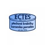 ECTES, spol. s r.o. - plechové krabičky, keramika a porcelán – logo společnosti