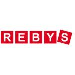 REBYS, s.r.o. - koupelnové a kuchyňské studio – logo společnosti