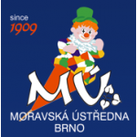 Moravská ústředna Brno, družstvo umělecké výroby – logo společnosti