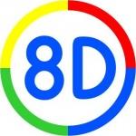 8D o.s. – logo společnosti
