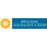 Koupaliště a kemp Broumar – logo společnosti