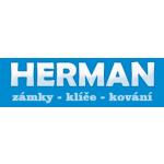 Herman Patrik- zámky – klíče – kování – logo společnosti