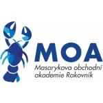 Masarykova obchodní akademie, Rakovník, Pražská 1222 – logo společnosti
