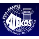 mramor - žula ALEKOS - kamenické práce – logo společnosti