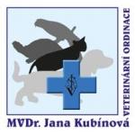MVDr. Jana Kubínová - veterinář – logo společnosti