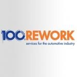100 % REWORK s.r.o.- služby pro automobilový průmysl – logo společnosti