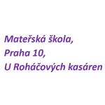 Mateřská škola, Praha 10, U Roháčových kasáren 14/1215, příspěvková organizace – logo společnosti