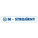 M - STROJÍRNY a.s. – logo společnosti