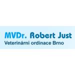 MVDr. Robert Just - pobočka Šlapanice – logo společnosti