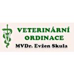 MVDr. Evžen Skula Veterinární ambulace pro malá zvířata – logo společnosti