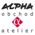 ALPHA Obchod&Atelier s.r.o. – logo společnosti