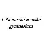 I. Německé zemské gymnasium – logo společnosti